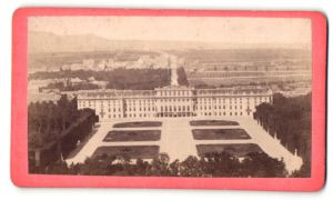Fotografie unbekannter Fotograf, Ansicht Wien-Schönbrunn, Schloss