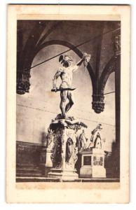 Fotografie unbekannter Fotograf, Ansicht Florenz, Persio, Perseus