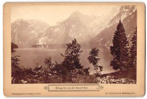 Fotografie Ney, Berchtesgaden, Ansicht Königs-See, Blick von der Kesselalpe