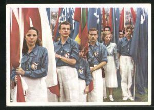 AK Die Jugend der Welt will den Frieden, Die Jugend der Tschecheslowakei