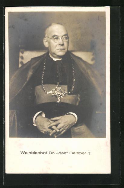AK Weihbischof Dr. Josef Deitmer