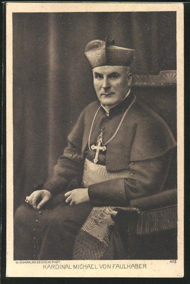 AK Kardinal Michael von Faulhaber