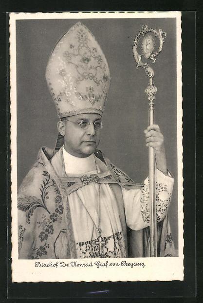 AK Bischof Dr. Konrad Graf von Preysing