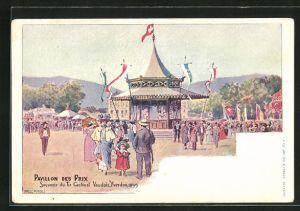 AK Yverdon, Tir Cantonal Vaudois 1899, Pavillon des Prix