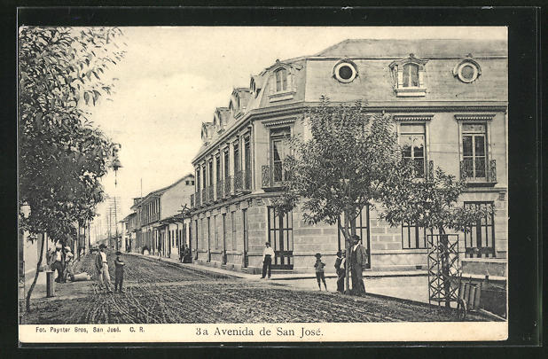 AK San José, Avenida de San José, Strassenpartie