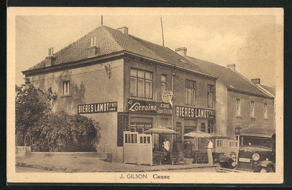 AK Canne, Cafe-Restaurant Jean Gilson