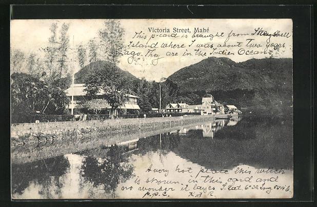 AK Mahé / Seychellen, View of Victoria Street