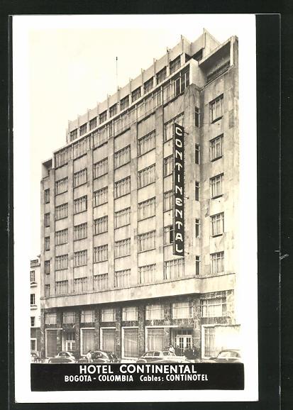 AK Bogota, Hotel Continental, Neubau, Architektur