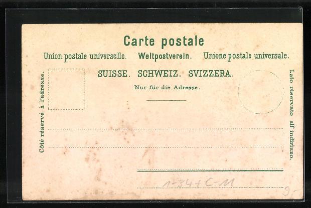 AK Schweizer Bundesrat, Zemp, Hauser, Brenner, Müller, Eidgen. Bundespalast 1