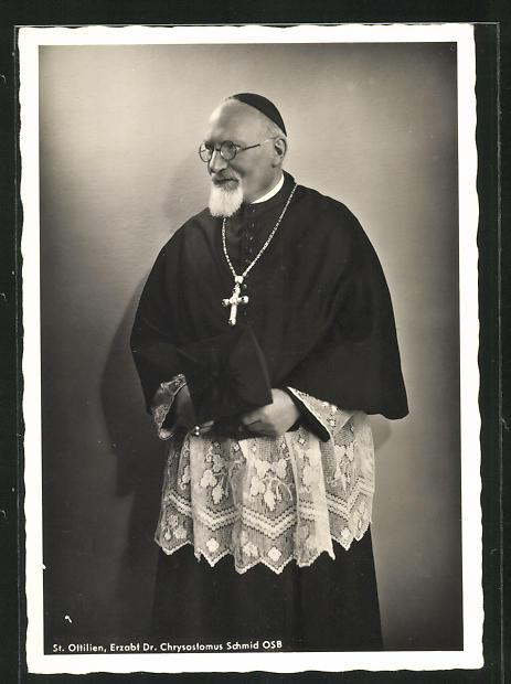 AK St. Ottilien, Erzabt Dr. Chrysostomus Schmid OSB