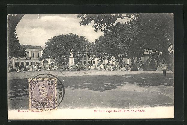 AK Sao Tome, Um aspecto da feira na cidade