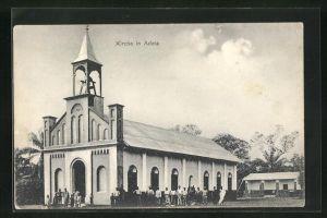 AK Adeta, Kirche, Eckfassade