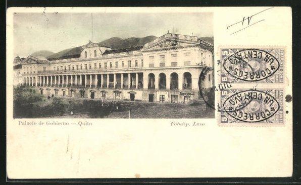 AK Quito, Palacio de Gobierno, Hauptfassade