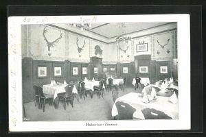 AK Wien, Restaurant St. Hubertus, Hubertus-Zimmer, Innenansicht
