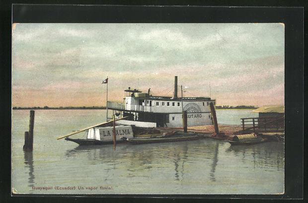 AK Guayaquil, Un vapor fluvial