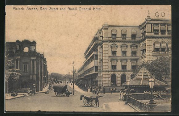 AK Colombo, Victoria Arcade, York Street and Grand Oriental Hotel