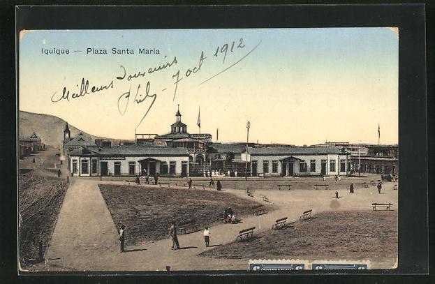 AK Iquique, Plaza Santa Maria