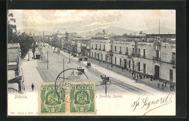 AK Juarez, Avenida, Strassenpartie