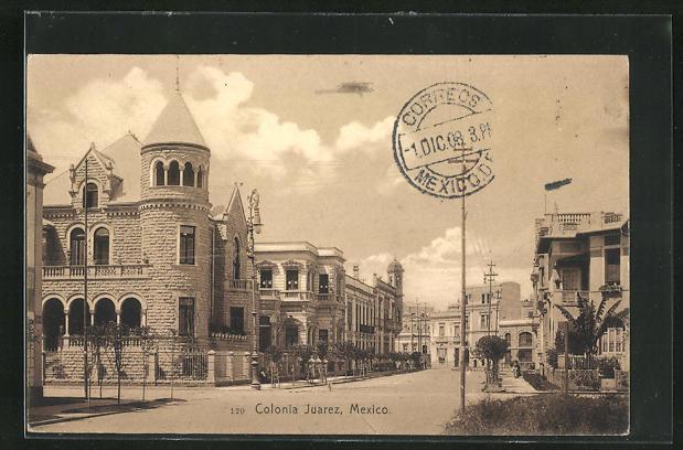 AK Colonia Juarez, Ortspartie