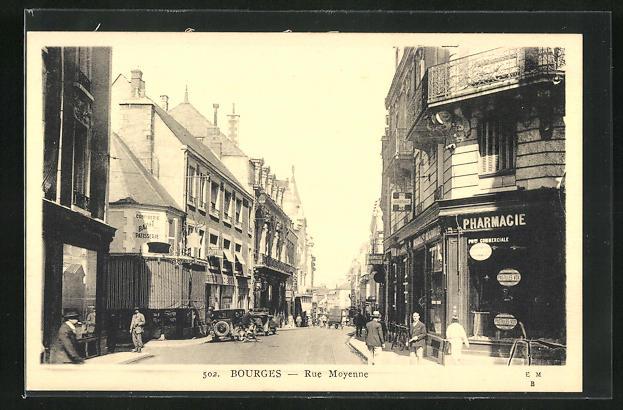 AK Bourges, Rue Moyenne