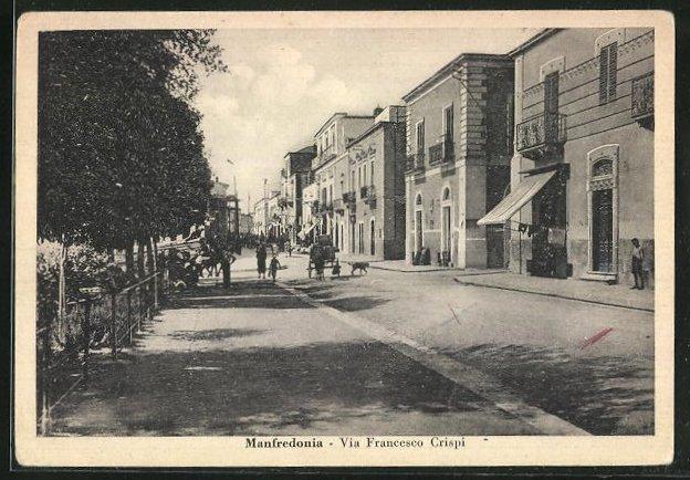 AK Manfredonia, Via Francesco Crispi