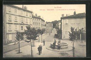 AK Mazamet, La Placette et sa Fontaine