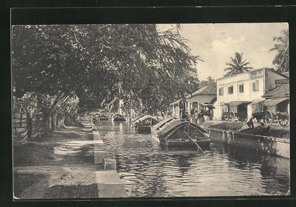 AK Negombo, Padda Boats in the Canal