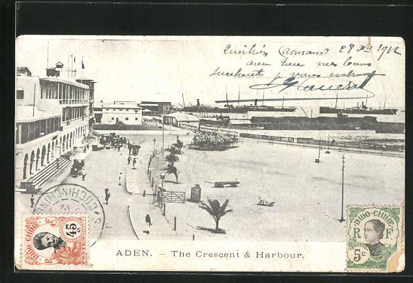 AK Aden, the Crescent & Harbour