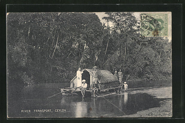 AK Ceylon, River Transport