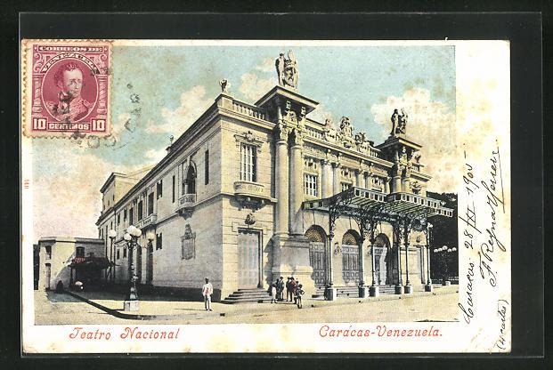 AK Caracas, Teatro Nacional