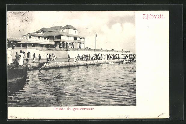 AK Djibouti, Palais du Gouverneur