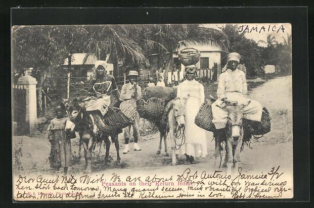 AK Jamaica, Peasants on their Return Home