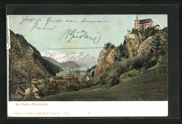 AK St. Peter-Freienstein, Kapelle auf dem Berg
