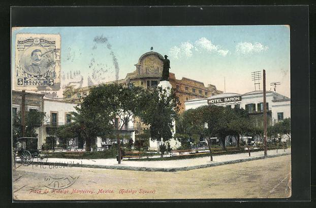 AK Monterrey, Piaza de Hidalgo