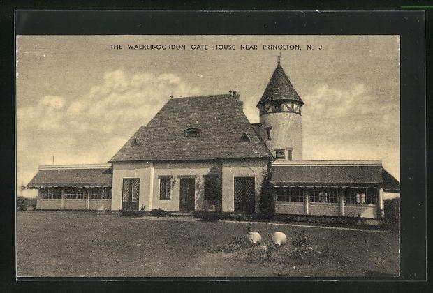 AK Princeton, NJ, The Walker-Gordon Gate House