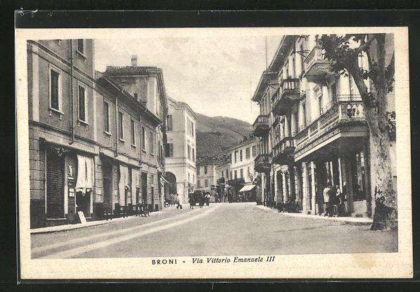AK Broni, Via Vittorio Emanuele III