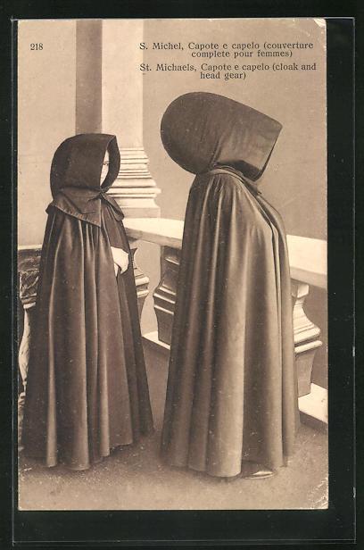 AK S. Michel, Capote e capelo, couverture complete pour femmes