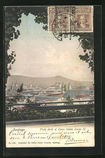 AK Santiago, Vista desde el Cerro Santa Lucia II