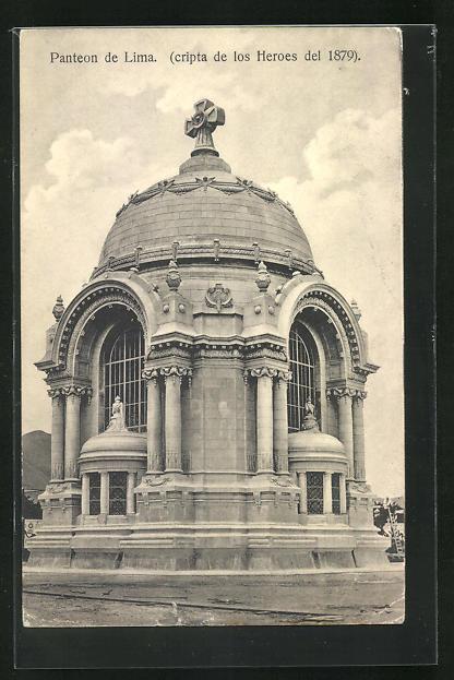 AK Lima, Panteon, Cripta de los Heroes del 1879