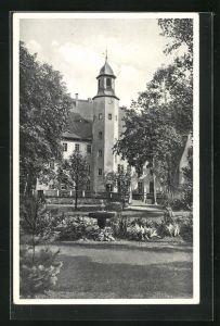 AK Burkersdorf i. Sa., NSV.-Mütter-Erholungsheim Schloss Burkersdorf
