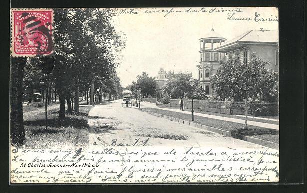AK New Orleans, LA, St. Charles Avenue