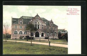 AK New Orleans, LA, F.W. Tilton Library at Tulane University