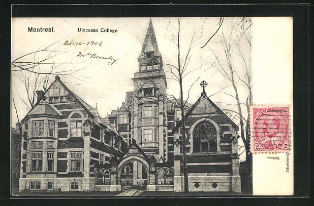 AK Montreal, Blick aufs Diocesan College