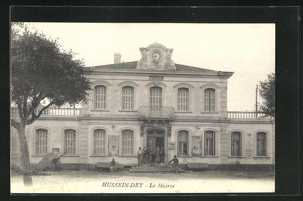 AK Hussein-Dey, La Mairie