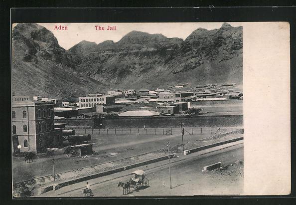 AK Aden, the Jail, Blick auf das Gefängnis