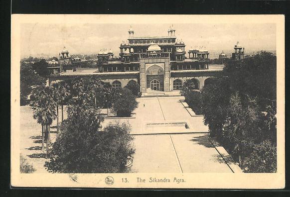 AK Agra, the Sikandra Agra