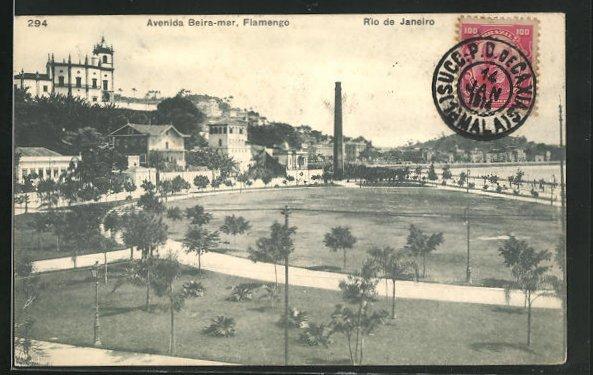 AK Rio de Janeiro, Avenida Beira-mar, Flamengo