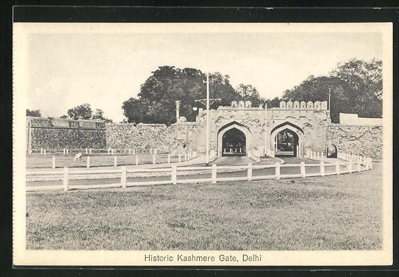 AK Delhi, Historic Kashmere Gate