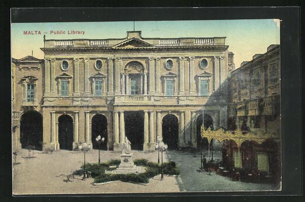 AK Malta, Public Library