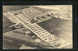 AK Plainsboro, NJ, Airplaine View od Walker-Gordon Plant